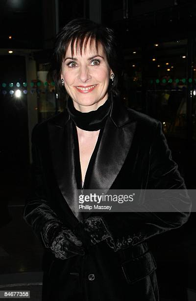 Enya appears on the Late Late Show on February 6 2009 in Dublin Ireland