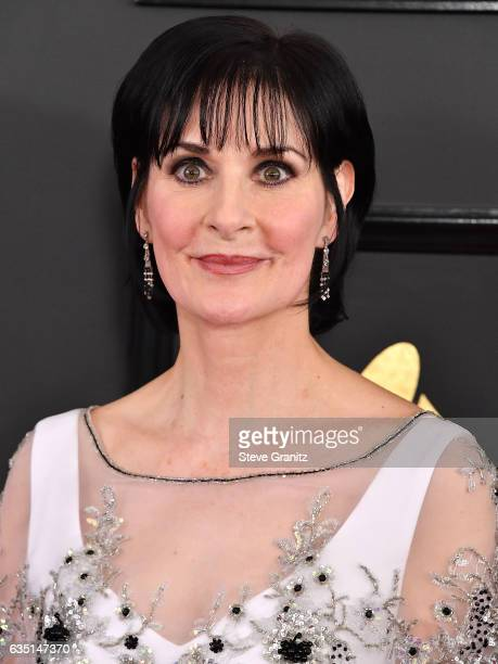 Enya arrives at the 59th GRAMMY Awards on February 12 2017 in Los Angeles California
