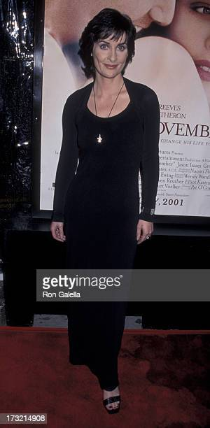 Enya attends the world premiere of 'Sweet November' on February 12 2001 at Mann Bruin Theater in Westwood California