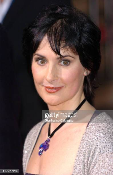 Enya during 2006 World Music Awards Red Carpet Arrivals at Earls Court in London Great Britain