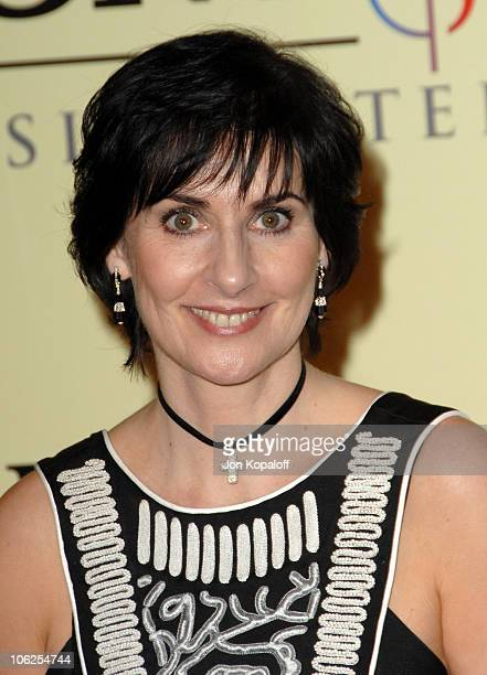 Enya during 2007 Sony/BMG GRAMMY After Party Arrivals at Beverly Hills Hotel in Beverly Hills California United States