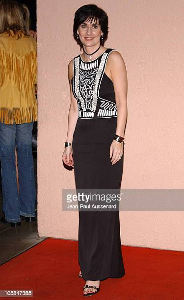 Enya during 2007 Sony/BMG GRAMMY After Party Arrivals at The Beverly Hills Hotel in Beverly Hills California United States
