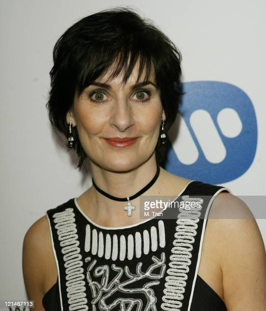Enya during 49th Annual GRAMMY Awards Warner Music Group After Party at The Cathedral in Los Angeles California United States