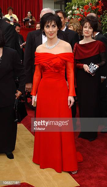 Enya during The 74th Annual Academy Awards Arrivals at Kodak Theater in Hollywood California United States
