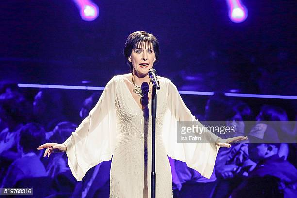 Enya performs during the Echo Award 2016 show on April 07 2016 in Berlin Germany