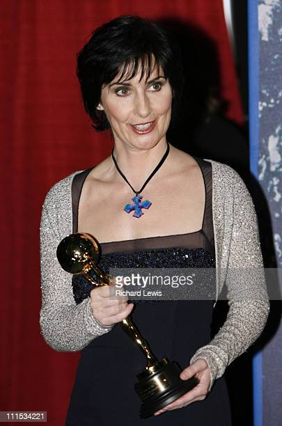 Enya winner of Best Irish Artist during World Music Awards 2006 Press Room at Earls Court in London Great Britain