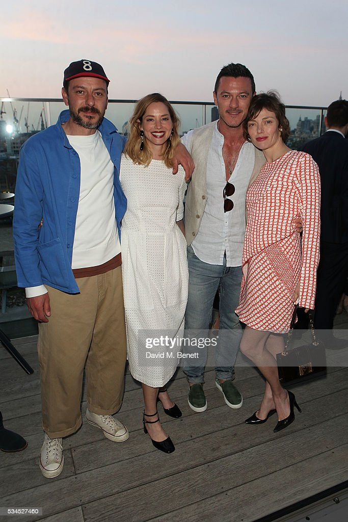 Enzo Cilenti, <a gi-track='captionPersonalityLinkClicked' href=/galleries/search?phrase=Sienna+Guillory&family=editorial&specificpeople=224970 ng-click='$event.stopPropagation()'>Sienna Guillory</a>, <a gi-track='captionPersonalityLinkClicked' href=/galleries/search?phrase=Luke+Evans+-+Actor&family=editorial&specificpeople=7174812 ng-click='$event.stopPropagation()'>Luke Evans</a> and <a gi-track='captionPersonalityLinkClicked' href=/galleries/search?phrase=Camilla+Rutherford&family=editorial&specificpeople=212747 ng-click='$event.stopPropagation()'>Camilla Rutherford</a> attend the Rumpus Room Spring Fling at Mondrian London on May 26, 2016 in London, England.