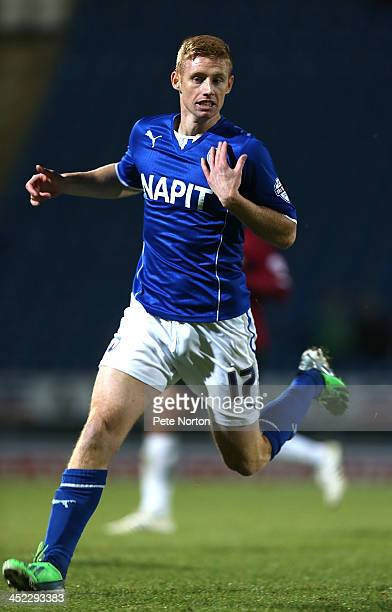 Eoin Doyle of Chesterfield in action during the Sky Bet League Two match between Chesterfield and Northampton Town at Proact Stadium on November 26...