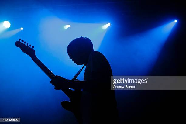 Eoin Loveless of Drenge performs on stage at The Ritz during Dot To Dot Festival on May 23 2014 in Manchester United Kingdom
