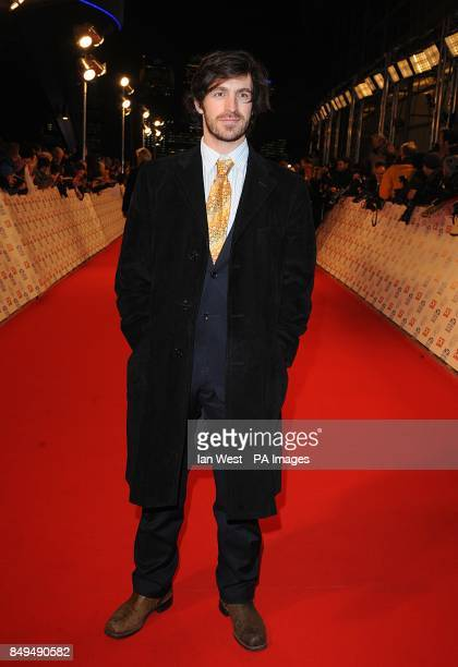 Eoin Macken arriving for the 2013 National Television Awards at the O2 Arena London