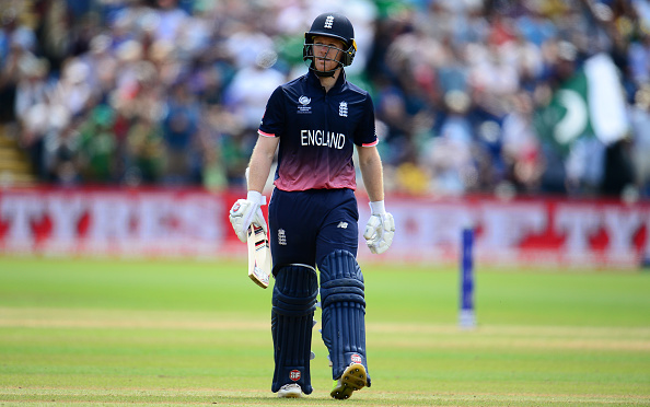 England v Pakistan - ICC Champions Trophy Semi Final : News Photo