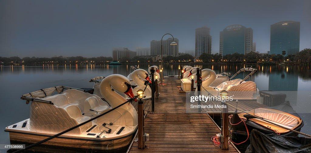 Eola swan boats
