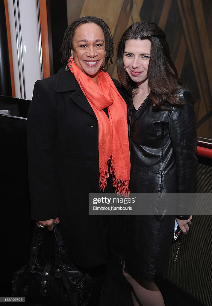 S Epatha Merkerson and Heather Matarazzo attend the Cinema Society And Sandro Present A Special Screening Of 'Starlet' After Party at The Lambs Club...