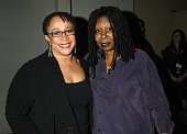 S Epatha Merkerson and Whoopi Goldberg during HBO AEG Live's 'The Comedy Festival' Comic Relief 2006 Backstage at Caesars Palace in Las Vegas Nevada...
