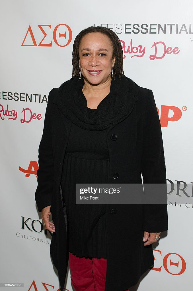 S. Epatha Merkerson attends the 'Life's Essentials With Ruby Dee' screening at The Schomburg Center for Research in Black Culture on November 14, 2012 in New York City.