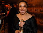 S Epatha Merkerson during HBO 2006 Golden Globes After Party Red Carpet at Aqua Star Pool at the Beverly Hilton Hotel in Beverly Hills California...
