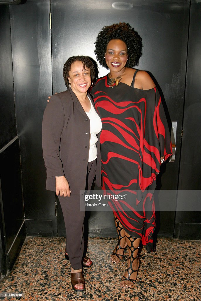 S Epatha Merkerson Georgia Me during 'Women in Transition The Art of Change' at The Public Theater in New York New York United States
