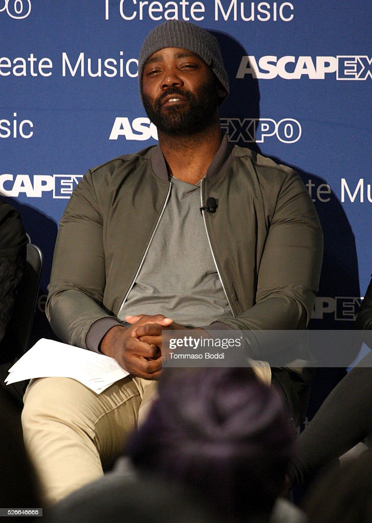 Epic Records A&R VP Eesean Bolden speaks onstage during the 2016 ASCAP 'I Create Music' EXPO on April 30, 2016 in Los Angeles, California.