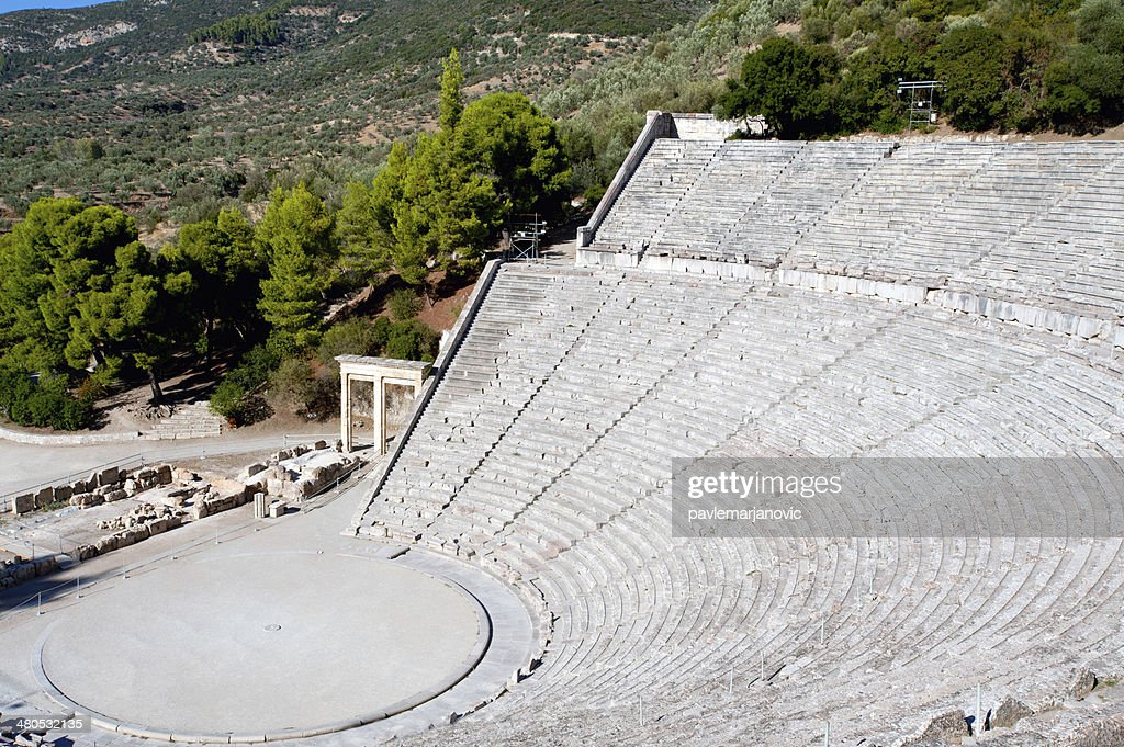 Epidaurus theater : Stockfoto