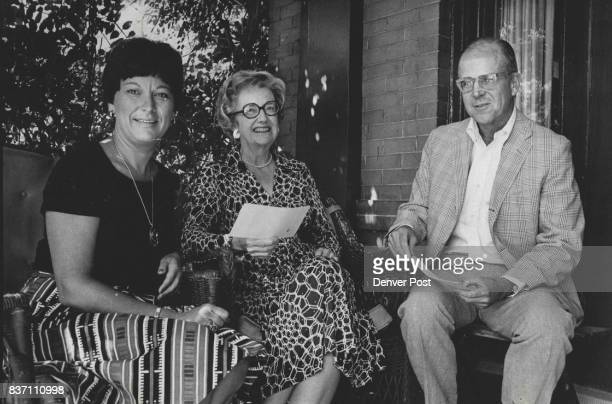 Epilepsy Association Will Benefit From Races Coordinating plans for a day at races at Centennial Turf Club are from left Mrs Robert Holmes Mrs George...