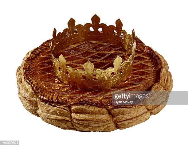 Epiphany Cake with Crown