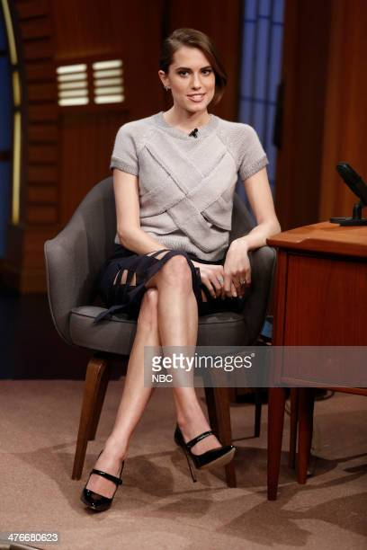 Actress Allison Williams on March 4 2014