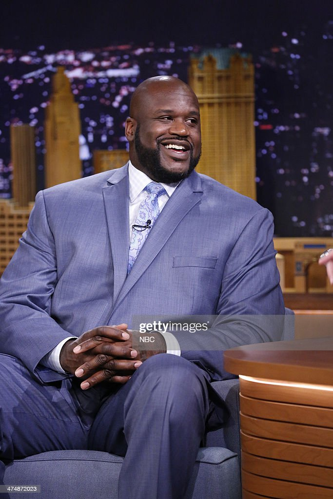 Shaquille O'Neal on February 25 2014