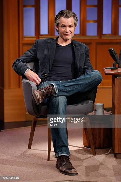 Actor Timothy Olyphant on March 26 2014