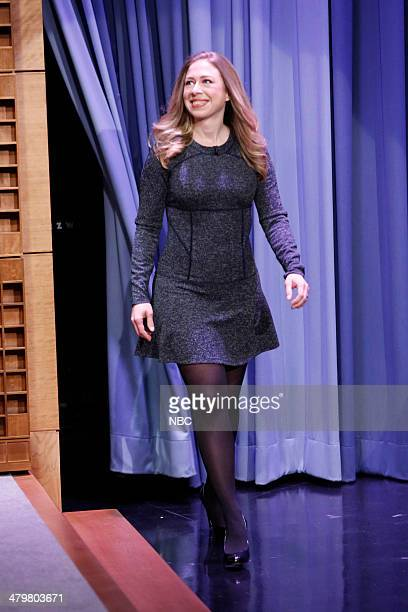 Chelsea Clinton arrives on March 20 2014