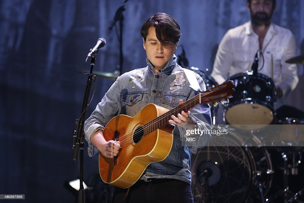 """NBC's """"The Tonight Show Starring Jimmy Fallon"""" With Guests Arnold Schwarzenegger, Carson Daly, Vampire Weekend"""