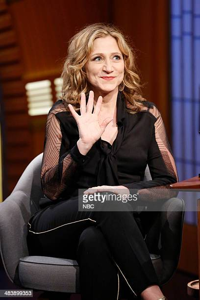 Actress Edie Falco during an interview on April 10 2014