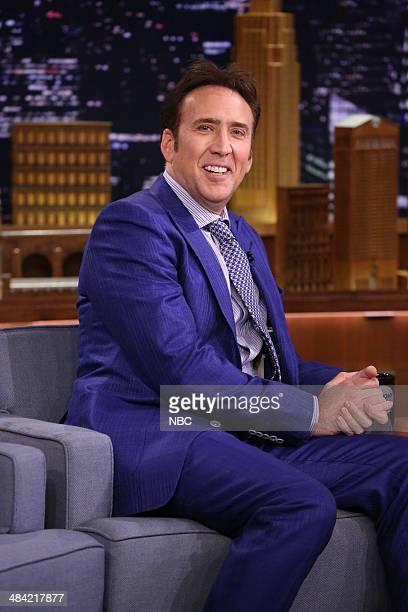Actor Nicolas Cage on April 11 2014