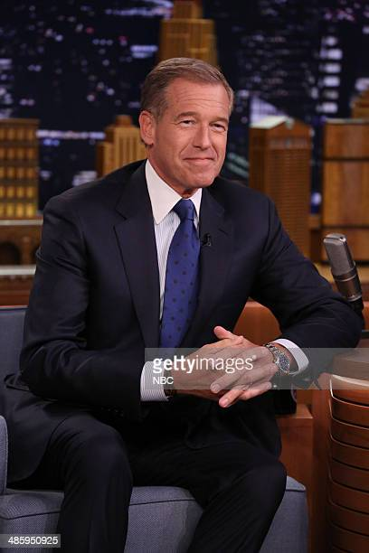 News anchor Brian Williams on April 21 2014