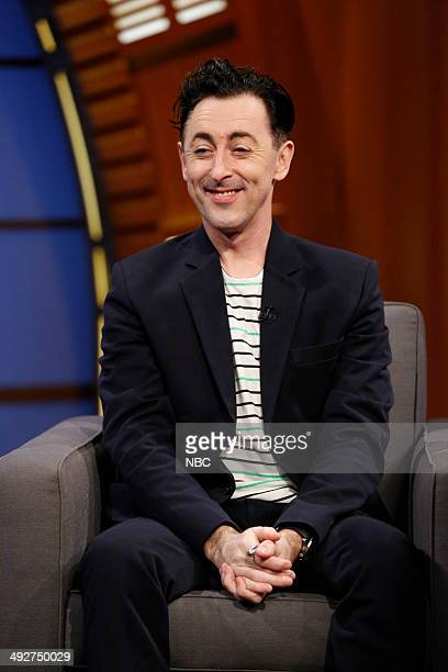 Actor Alan Cumming during an interview on May 21 2014