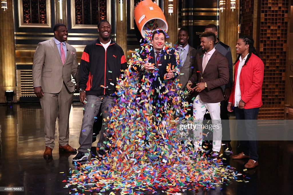"NBC's ""Tonight Show Starring Jimmy Fallon"" with guests Zac Efron, Guy Fieri, Jadeveon Clowney, Sarah McLachlan"