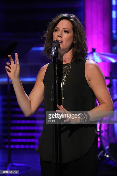 Musical guest Sarah McLachlan performs with The Roots on May 7 2014
