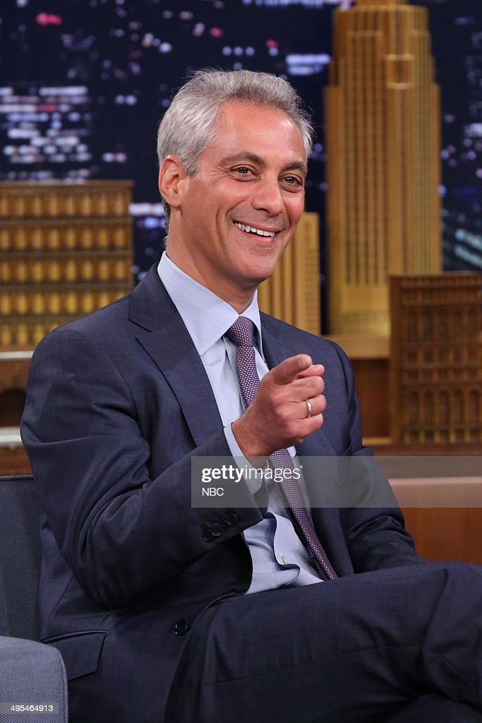 Chicago Mayor Rahm Emanuel on June 3, 2014 --