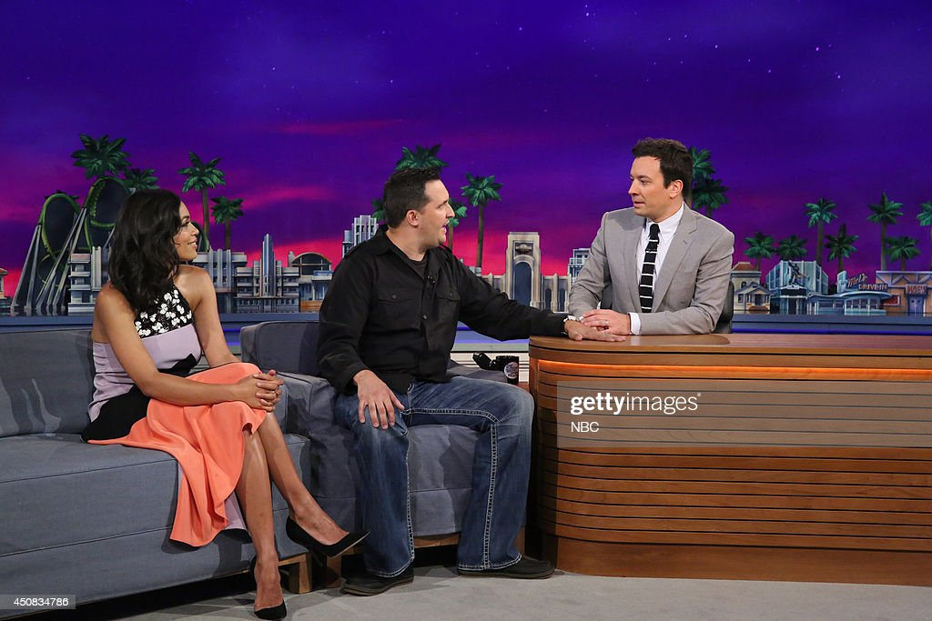 "NBC's ""Tonight Show Starring Jimmy Fallon"" with guests Rosario Dawson, Jeff Musial, Fun"