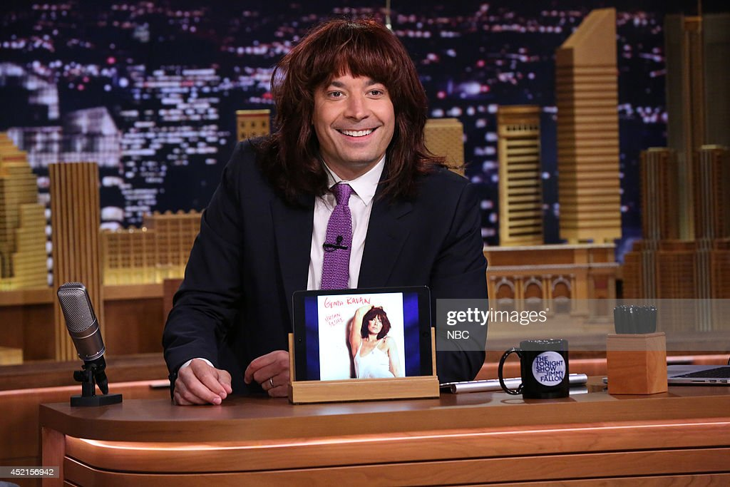 Host Jimmy Fallon on July 14, 2014 --