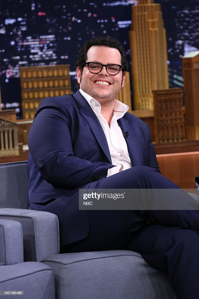 Actor <a gi-track='captionPersonalityLinkClicked' href=/galleries/search?phrase=Josh+Gad&family=editorial&specificpeople=4196023 ng-click='$event.stopPropagation()'>Josh Gad</a> on July 15, 2014 --
