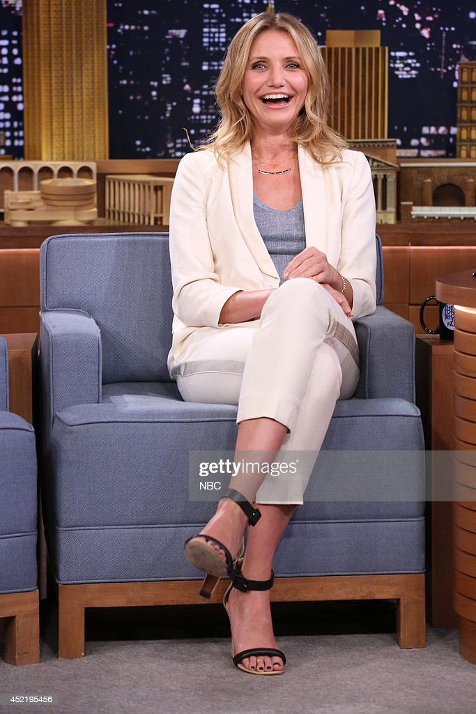 Actress Cameron Diaz on July 15, 2014 --