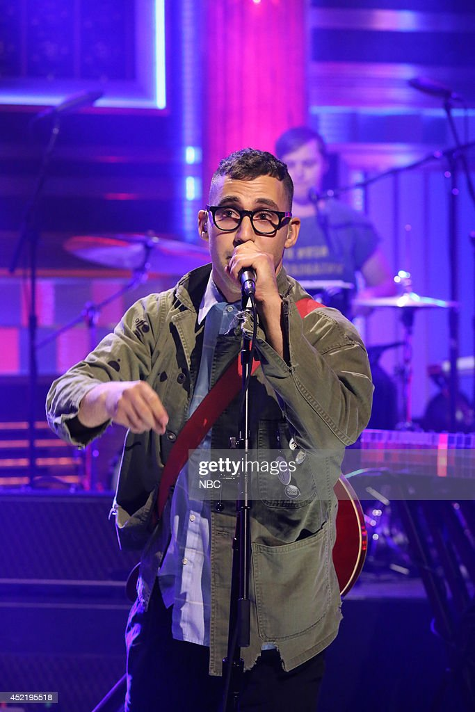 Jack Antonoff of musical guest Bleachers performs on July 15, 2014 --