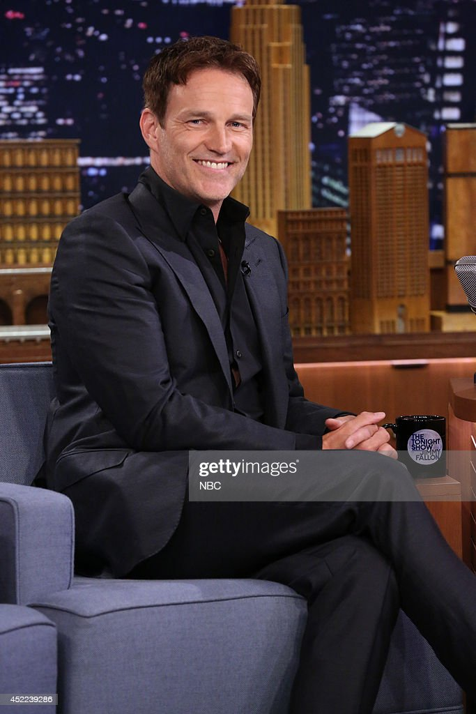 "NBC's ""Tonight Show Starring Jimmy Fallon"" with guests Whoopi Goldberg, Stephen Moyer, Puss N' Boots"