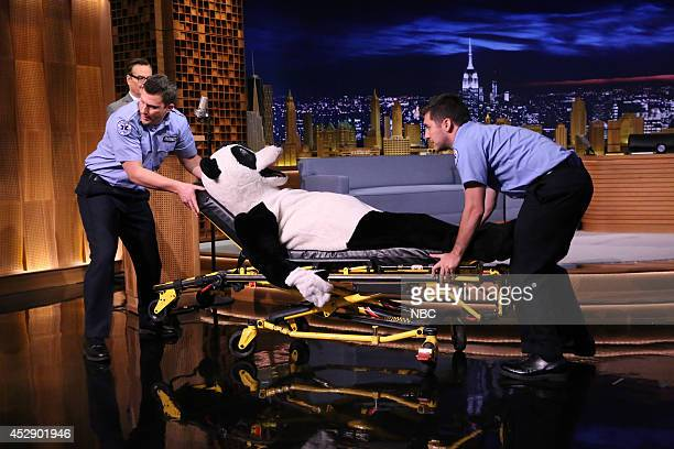 Hashtag the Tonight Show Panda on July 29 2014