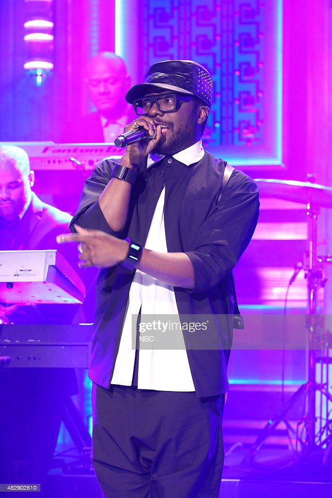 Musical guest will.i.am performs on July 29, 2014 --