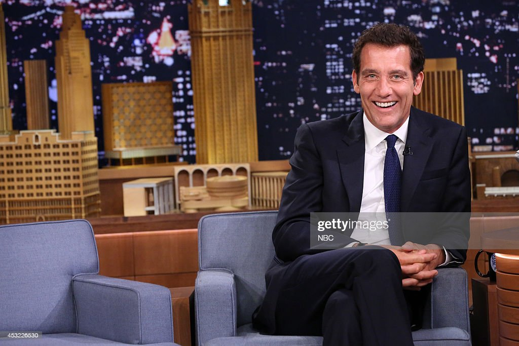 Actor Clive Owen on August 5 2014