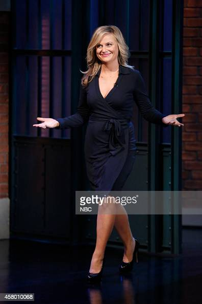 Actress Amy Poehler arrives on October 28 2014