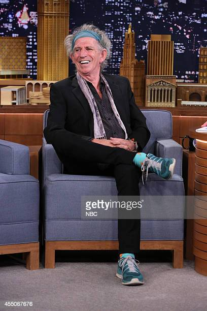 Musician Keith Richards on September 9 2014