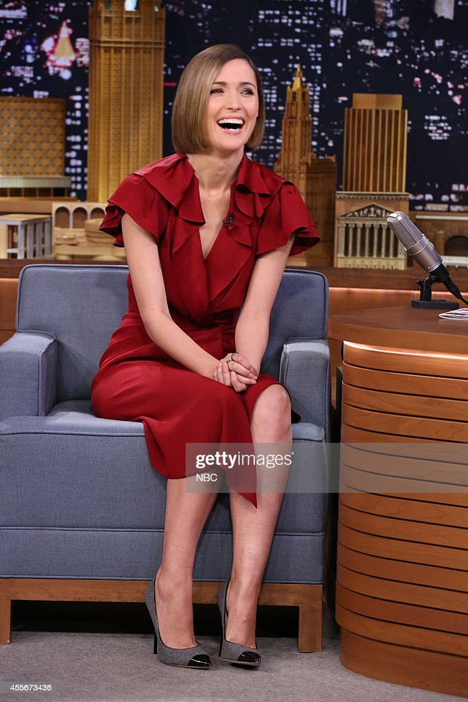 Actress <a gi-track='captionPersonalityLinkClicked' href=/galleries/search?phrase=Rose+Byrne&family=editorial&specificpeople=206670 ng-click='$event.stopPropagation()'>Rose Byrne</a> on September 18, 2014 --