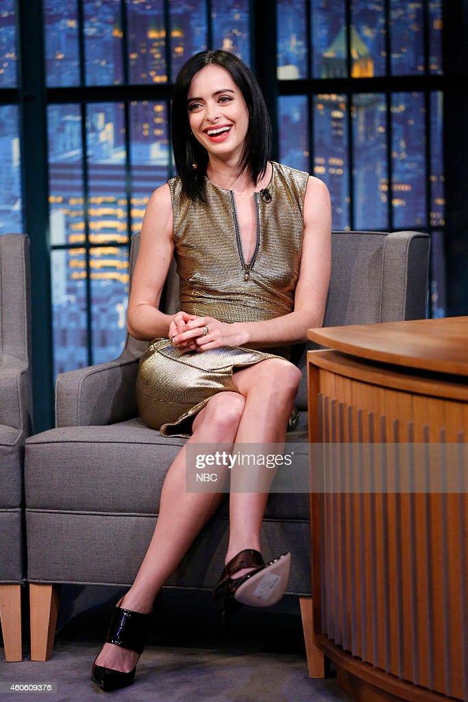 Actress Krysten Ritter during an interview on December 17 2014